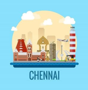 Chennai area names