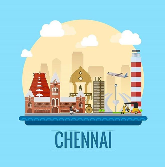 chennai area name