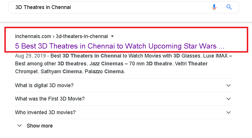 3d theatres in chennai