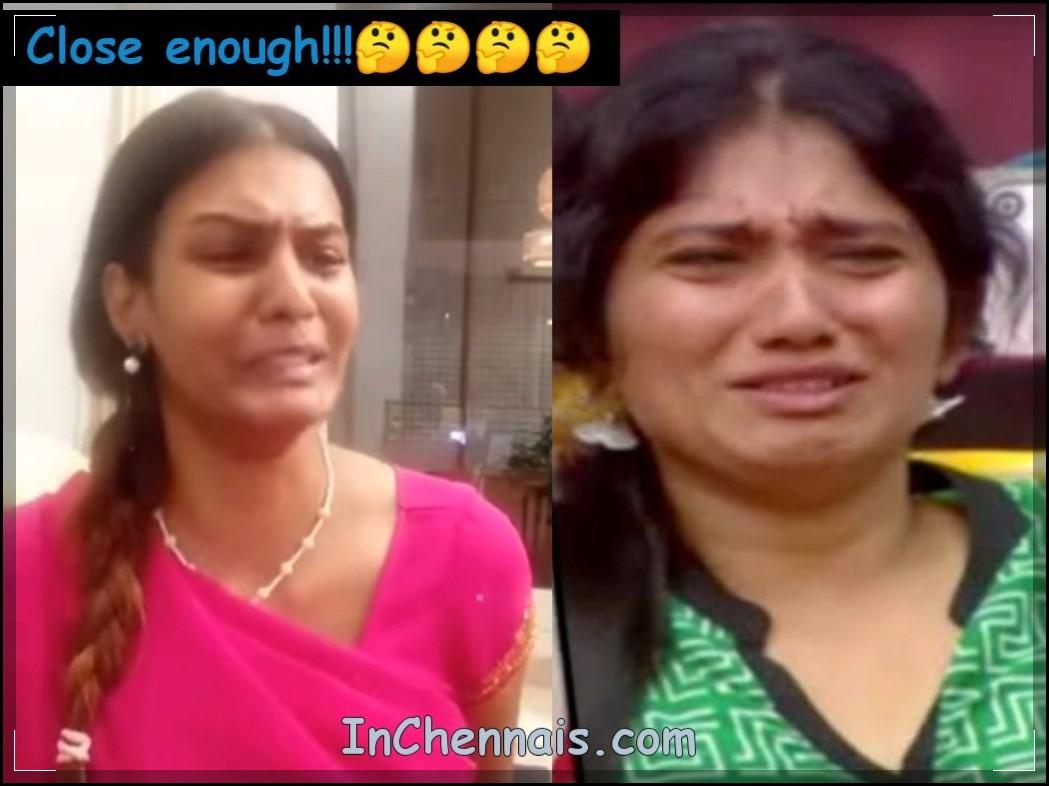Meera Mithun VS Julie Meme