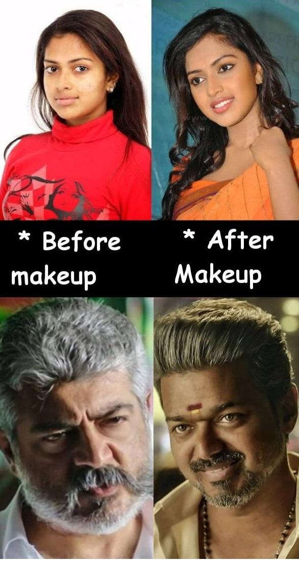 Vijay Vs Ajith Tamil Meme