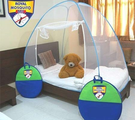 Royal Foldable Mosquito Net Single Bed