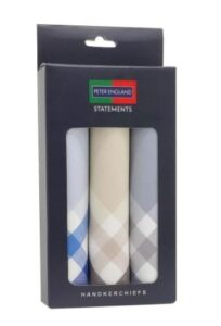 Peter England Mens Cotton Handkerchief