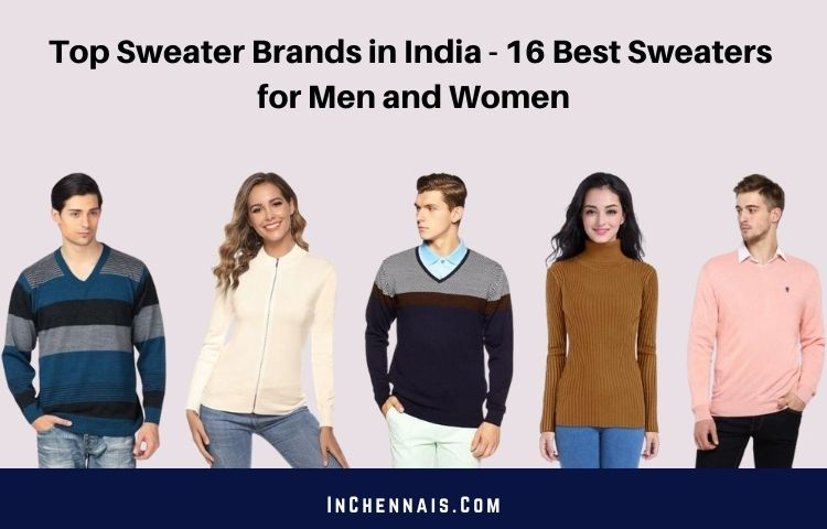 Best Sweater Brands in India
