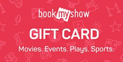 Gift Your Lover - BookMy show Gift Card