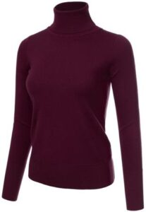 JJ Perfection Womens Stretch Sweater