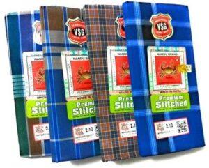 Nandu Brand Men Cotton Stitched Lungi