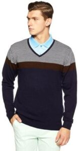 Peter England Mens Synthetic Sweater