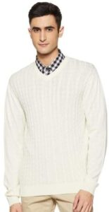 Raymond Mens Full Sleeve Regular FIT Sweater