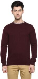 Red Chief Mens Casual Solid Sweater
