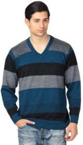 aarbee Mens Blended VNeck Sweater