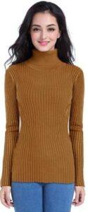 v28 Women Sleeveless High Neck TSweater