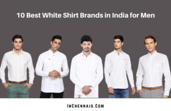 Best White Shirt Brands in India for Men