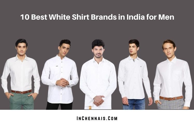 Best White Shirt Brands in India for Men