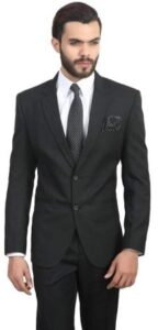 MANQ Mens Slim Fit Blazer