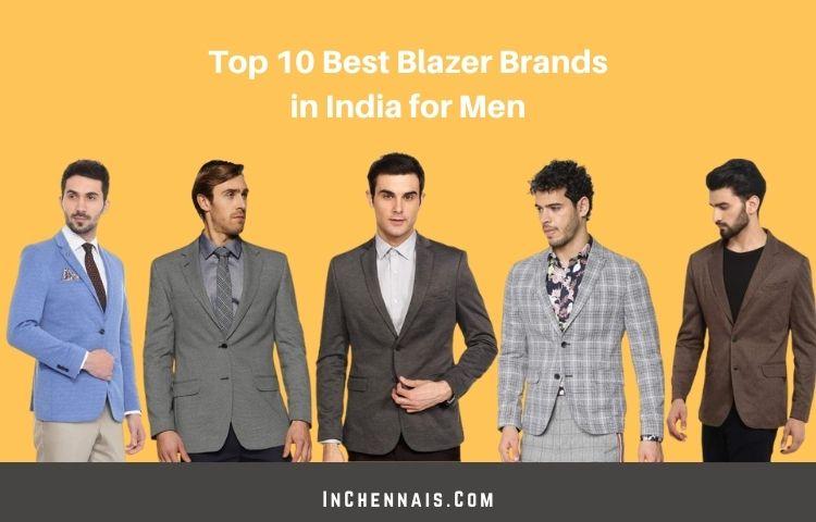Top 10 Best Blazer brands in India