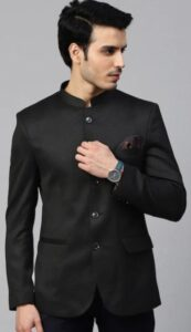 Chinese style blazer