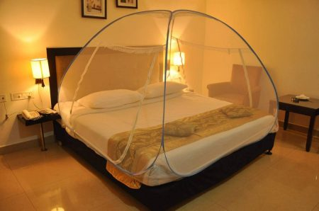 BACKBONE Foldable Mosquito Net Flexible for King Size Bed