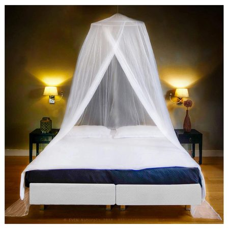 Even Natural The Mosquito Net for Double Bed Canopy